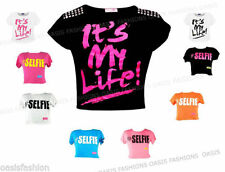 Crew Neck Graphic T-Shirts & Tops (2-16 Years) for Girls