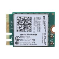For Intel 7260NGW AN 2.4G+5G Dual Band Bluetooth 4.0 Wireless NGFF/M2 WiFi Card