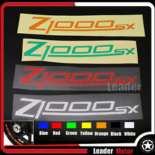 For KAWASAKI Z1000SX Front & Rear DECALS WHEEL Reflective STICKERS STRIPES