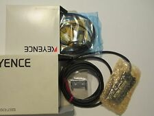 KEYENCE LV-21AP LASER SENSOR AMPLIFIER & LV-H62 LASER SENSOR HEAD