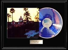 The Eagles Hotel California Album Framed Lp Metalized Vinyl Record Rare Non Riaa