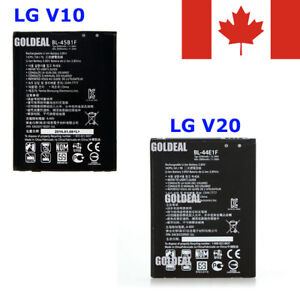 New Replacement Battery for LG V10, BL-45B1F & LG V20, BL-44E1F *
