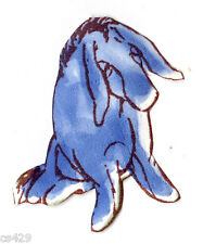 "1.5"" Disney classic pooh eeyore mini prepasted wall border cut out character"