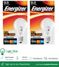 Energizer 48w(60w) Halogen Dimmable GLS ES-E27 2,000hrs Packs of 2