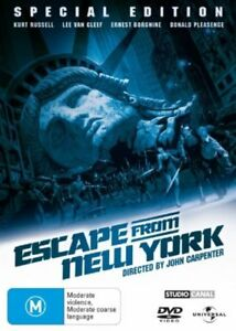 Escape From New York (DVD, 2007)
