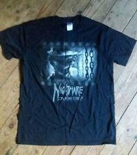 Nightmare On Elm Street Freddy Krueger Horror T Shirt Medium