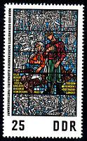 1348 postfrisch DDR Briefmarke Stamp East Germany GDR Year Jahrgang 1968