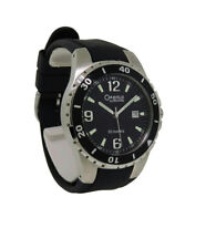 Caravelle By Bulova 45B35 Men's Round Black Analog Date Resin Band Watch