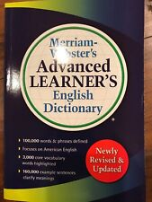 Merriam-Webster's Advanced Learner's English Dictionary Newly Revised & Updated