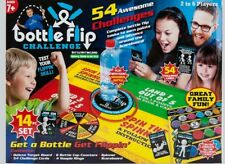 14PC BOTTLE FLIP GAME BOARD KIDS 54 CHALLENGES 6PLAYERS XMASGIFT