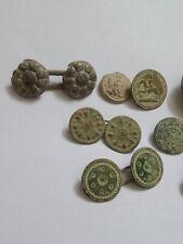 Lot de Boutons plat numéroté  Napoléon Ier et boutons de capes