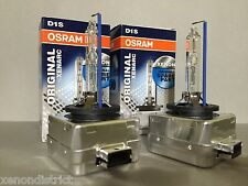 NEW PAIR 2PCS OEM OSRAM XENARC D1S 66144 ORIGINAL 5000K XENON HID LIGHT BULBS
