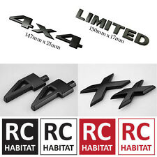 ABS Gloss Black Jeep LIMITED 4X4 Sticker Rear Badge Tailgate Emblem Badge Decal
