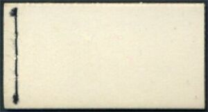 1957 QEII Edward Crown 1/- Booklet (unprinted cover) SG E2
