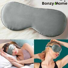 Comfortable Silk Sleep Eye Masks Blindfold Soft Eye Cover Eyeshade with Box