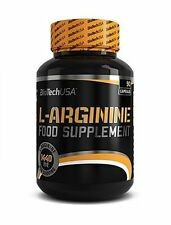 BioTech USA L-ARGININE 90caps FREE WORLS SHIPPING !