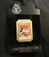 NEW Disney Store Nostalgia ''Mickey's Nightmare'' Mickey Mouse Pin New on Card