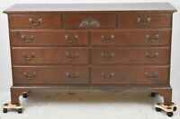 ELDRED WHEELER Cherry CHEST OF DRAWERS Bench Made CARVED FAN