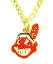 Cleveland Indians MLB Logo Necklace