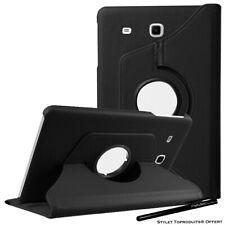 "Housse Etui Noir pour Samsung Galaxy Tab A6 7.0"" T280 Coque Support Rotatif 360°"
