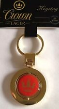 Crown Lager Official Merchandise BEER DRINKS BAR Collectors Keys Key Ring New ✅