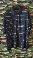Champion Short Sleeve Golf Polo Mickey Mouse Men's Large (Black) EUC