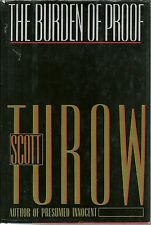 The Burden of Proof Scott Turow Hardcover 1990