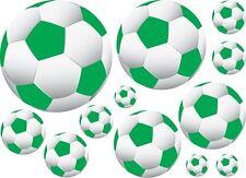 36 Soccer Ball Wall Decor Art Sticker Decal Vinyl Green