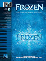 Frozen Sheet Music Piano Play-Along Book Audio Online NEW 000126480
