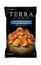 TERRA Crinkle Cut Sweet Potato Sea Salt 6 Ounce (Pack of 12) Free Shipping
