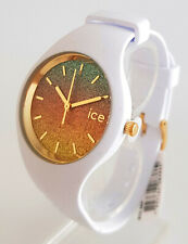 Ice-Watch ICE lo 016901 Malibu Medium Ø 40 mm Damenuhr Uhr neu Silikon weiß 181