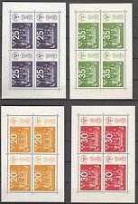 Schweden Block 2 - 5 postfrisch Briefmarkenausstellung STOCKHOLM'74