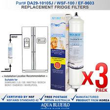 """3 Pack Premium 10"""" Inline Fridge Filter replace Aqua Pro Inline Cartridge AIC-2"""