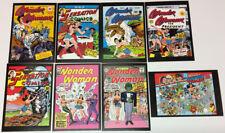 Art of Vintage DC Comics Post Card Lot ~ Golden Age Wonder Woman Sensation Comic