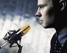 Koolertron 50MM Microphone Shock Mount For 48-54mm Mic At2020 Diameter Condenser