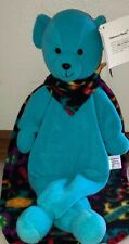 """Play Patrol Undercover Heroes Security Blanket 26"""" Blue with Tag Washable Lovey"""