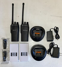 2 Motorola Cp150 Radios Aah50kcc9aa1an Vhf 4 Ch 146174mhz L5