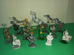 CHERILEA AND LONE STAR KNIGHTS, x15, 1950s/60s, PLASTIC TOY SOLDIERS
