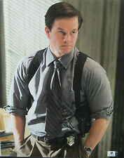 Mark Wahlberg Signed 11x14 Cop Photo - Global Authentics