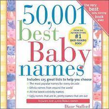 50,001 Best Baby Names Stafford, Diane Paperback