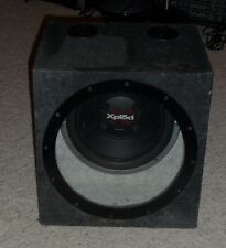 Sony Xplod 12 Inch Single Car Subwoofer In an Enclosure Box