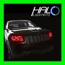 2011-2013 Jeep Grand Cherokee RED LED Headlight Halo Ring Kit by Oracle Lighting