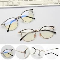 Anti-blue Light Glasses Retro Metal Frame Radiation Protection Computer Goggles