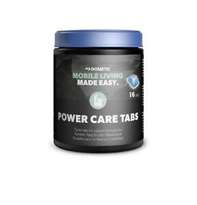 Dometic PowerCare Toilet Tabs 16Pcs  Ideal For Motorhome & Caravan