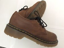 Kids Dr Martens Shoes,,U.K. Children's size 11 ,Classic Style Brown Soft Leather
