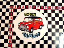 Nice comedy glass sticker for a classic Mini - 1275GT Cooper S 998 1275