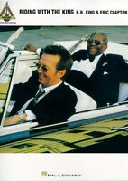 BB King & Eric Clapton Riding With The King Blues Pop Guitar TAB Music Book