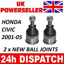 2 x Honda Civic 2001-2005 BOTTOM BALL JOINT balljoint including EP ES EU