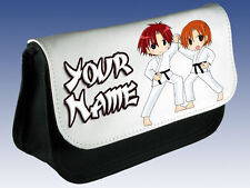 KARATE KUNG FU MATITA Personalizzata Custodia / DS vettore / MAKE UP bag-kids denominato REGALO