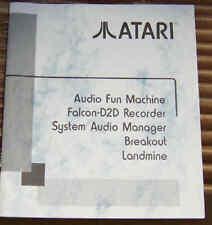 Falcon Extra Programs AFM/D2D/SAM/Breakout/LM NEW Atari